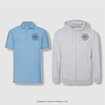 Printed Polo-Shirts & Zoodies
